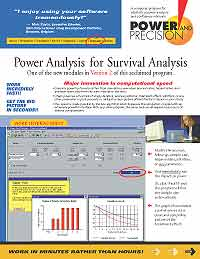 Survival Analysis Brochure